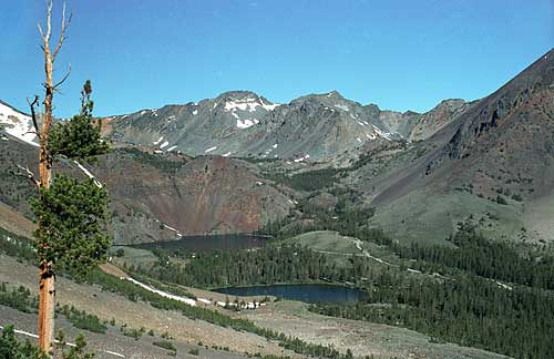 Little Virginia and Big Virginia Lakes